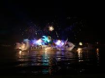 Каждогодный большой парад драконов Стоковые Фото