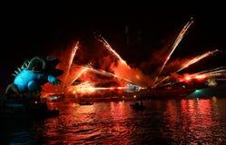 Каждогодный большой парад драконов Стоковые Фотографии RF