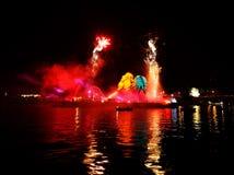 Каждогодный большой парад драконов Стоковое Фото
