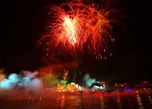 Каждогодный большой парад драконов Стоковое Изображение