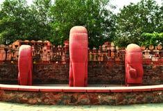 Каждый блок камня имеет скульптуру внутреннюю и свой работа скульптуры, который нужно открыть его - Микеланджело Стоковое Изображение RF