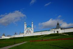 Казань Кремль, Казань Rusia Стоковое Изображение