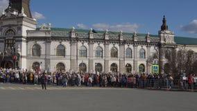 Казань, Россия, 9-ое мая: шествие бессмертного полка акции видеоматериалы