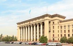 Казах-великобританский технический университет Алма-Ата, Казахстан Стоковые Фотографии RF