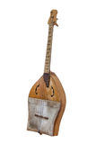 Казах Sherter и старый зашнурованный Turkic музыкальный инструмент Стоковое Изображение RF