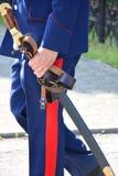 Казацкая сабля стоковые фото