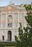 Казерта, Италия 27/10/2018 Главный внешний фасад королевского дворца Казерты Италии Конструированный архитектором Luigi стоковое изображение rf