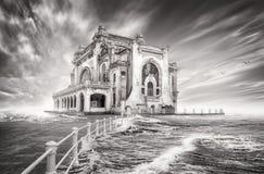Казино в constanta, Румынии стоковые фотографии rf