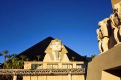 Казино-гостиница Луксора, Лас-Вегас стоковые фотографии rf