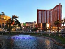Казино гостиницы Лас-Вегас, острова сокровища Стоковые Изображения RF