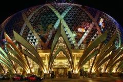 Казино грандиозный Lisboa в Macau стоковое изображение