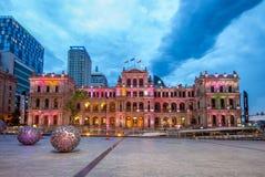 Казино казначейства, казино в Брисбене работало группой развлечений звезды стоковая фотография