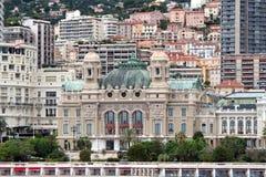 Казино Монте-Карло, Монако Стоковое Изображение RF
