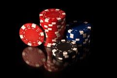 казино откалывает некоторое Стоковые Фотографии RF