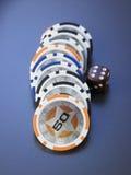 казино 3d откалывает иллюстрацию Стоковое Фото