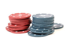 казино 3d откалывает иллюстрацию Стоковое фото RF