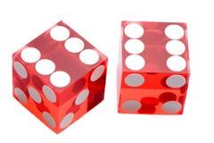 казино dices стоковое фото rf