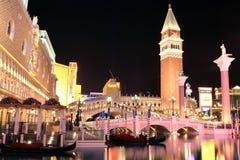 казино Las Vegas venetian Стоковые Фото