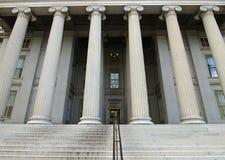 казначейство США здания Стоковые Изображения RF
