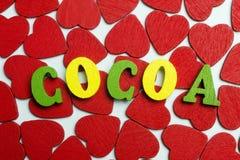 Какао влюбленности Стоковые Фото