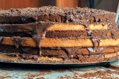 Какао и торты стоковое изображение rf
