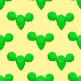 Кактусов картины тропического завода зеленого цвета цветка пустыни природы кактуса иллюстрация вектора мексиканских суккулентных  Стоковое фото RF