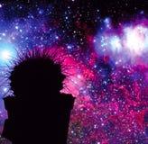 Кактус космоса Стоковая Фотография RF