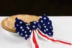 Как американско как яблочный пирог Стоковое Изображение