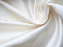 как белизна предпосылки шикарная silk ровная Стоковая Фотография RF