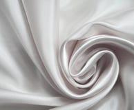 как белизна предпосылки шикарная silk серебристая Стоковые Изображения RF