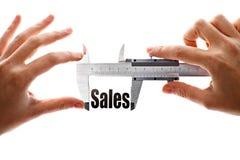 Как большие наши продажи Стоковая Фотография RF