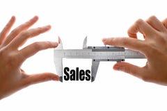 Как большие наши продажи Стоковое Изображение