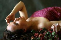 как вскользь влюбленность смерти Стоковые Фото