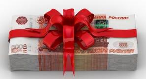 как деньги подарка Стоковое фото RF