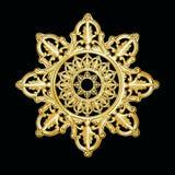как звезда снежинки серебра картины Стоковое Изображение