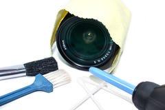 как камеры очищая цифровые продукты набора такие Стоковая Фотография RF