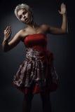 как красивейшая одетьнная fairy модель способа Стоковые Изображения