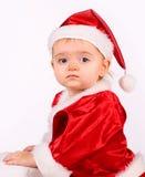 как младенец claus милый одетьнный santa Стоковая Фотография RF