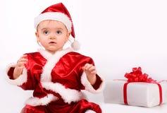 как младенец claus милый одетьнный santa Стоковые Фотографии RF