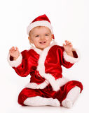 как младенец claus милый одетьнный santa Стоковые Фото