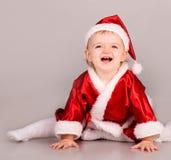 как младенец claus милый одетьнный santa Стоковое Фото