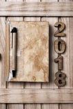 2018, как Новый Год Стоковые Фотографии RF