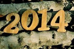 2014, как Новый Год Стоковые Изображения RF