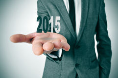 2015, как Новый Год Стоковое фото RF