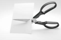 как ножницы принципиальной схемы Стоковая Фотография RF