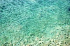 как обои моря предпосылки голубые слишком полезные Стоковая Фотография RF