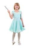 как одетьнный princess fairy девушки маленький Стоковые Фото