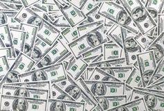 как доллары предпосылки Стоковые Фото
