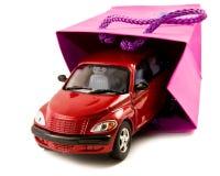 как подарок автомобиля стоковое фото rf