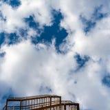 Как получить в небо стоковая фотография
